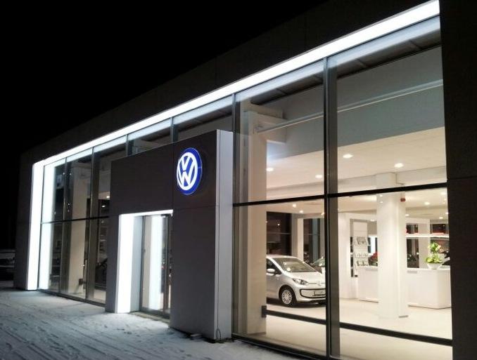 Volkswagen-LED-Portaal
